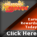 Earn Rewards at CreationsRewards!
