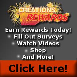 Earn Rewards at CreationsRewards!